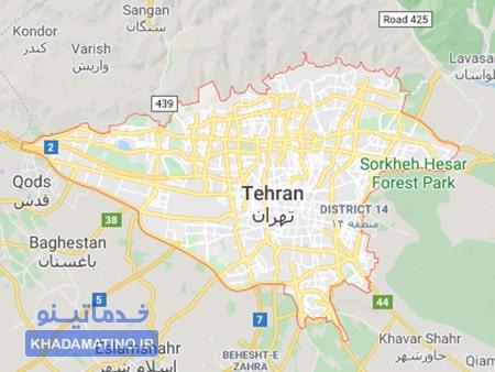 لوله بازکنی شبانه روزی در تهران